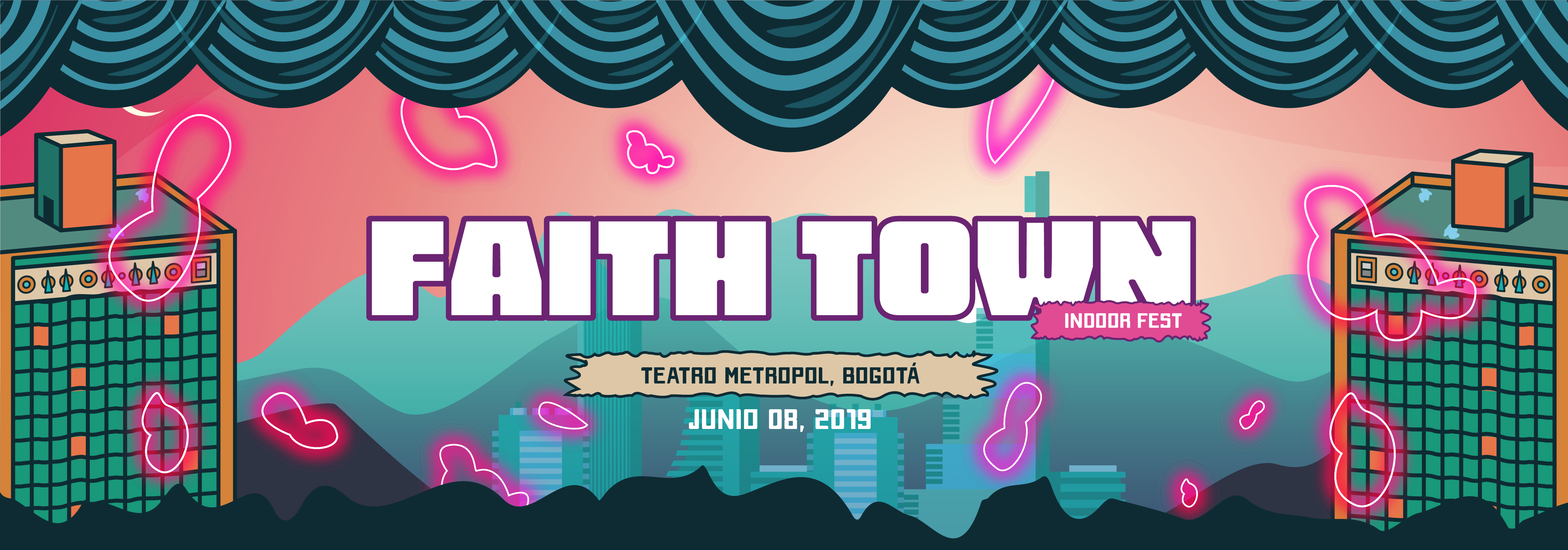 Faith_town_ticket_code_portada
